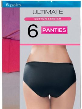 Mix Up Style Cotton Six Women's Panties