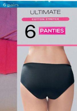 Mix Up Style Cotton Six Women's Panties