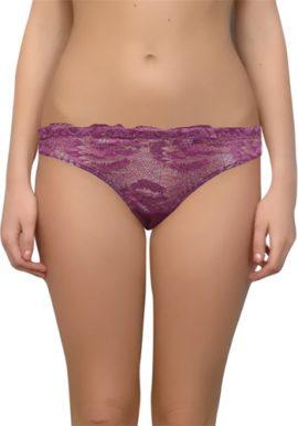 Seductive See Through Lace Mesh Thong