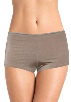 Women's Plain Soft Boyshorts Panty Pack Of 2