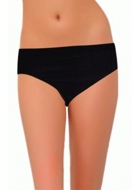 Chica Women's Bold Black Bikini Brief