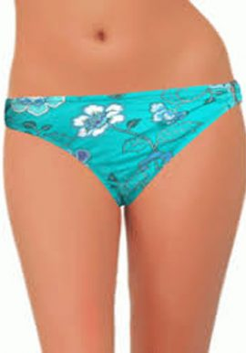 Okay Lady's Floral Print Bikini Bottom