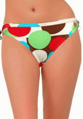 Roxy Cool Polka Dot Print Bikini Bottom