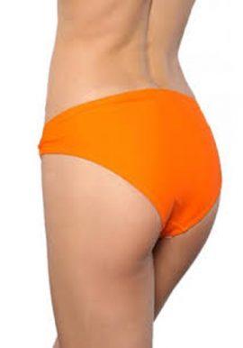 Sexy Orange Waist Embroidery Bikini Bottom