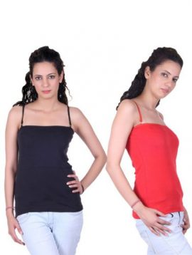 Ladies Soft Cotton Pack Of 2 Innerwear Tops