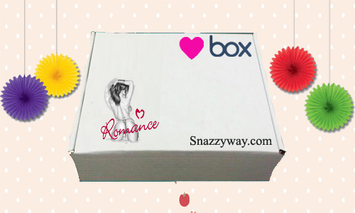 More then just plain beauty subscription box - flirty, seductive gift for her