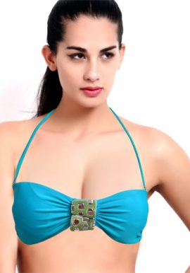 Rae Stunning Front Turquoise Padded Multiway Bra