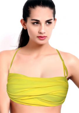 Power Flower Lovely Yellow Multiway Bra