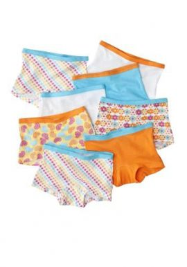 Wholesale lot of 8 Assorted Full Coverage Boyshorts