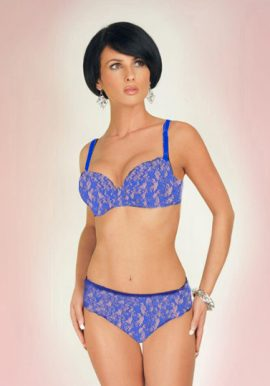 Perfect Romantic Love Ultra Sexy Blue Lingerie Set