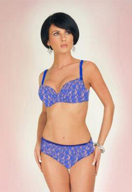 Perfect Romantic Love Ultra Sexy Blue Lingerie Set