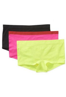 Women's Mid Waist Breathable 3- Pack Boyshorts