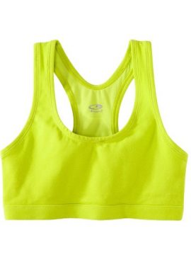 Bpc Lime Green Scope Front Racerback Sports Bra