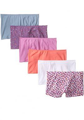 Snazzyway Mid Rise Long Boyshort Panties Pk-6