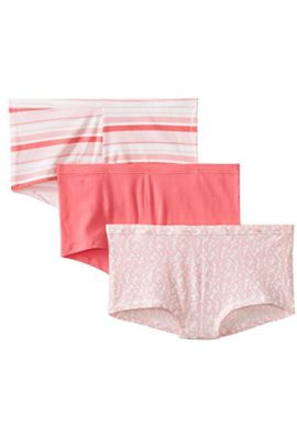 Snazzyway Smooth Cotton Stretch Boyshorts Pack-3