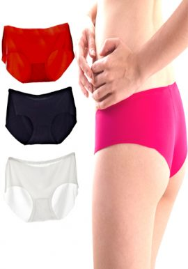 Snazzyway Colorful 4-Pack Smooth Hipster Panties