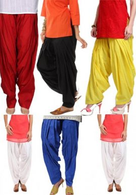 6- Wholesale Cotton Patiala Bottom Style