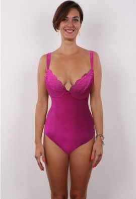 Astor Pink Lace Underwired One Piece Swimwear