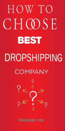 How to choose best drop shipping companies in India