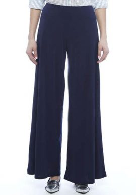 Snazzyway-Fabulous-Navy-Blue-Chiffon-Palazzo-Trouser