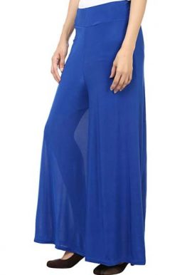Snazzyway- Royal Blue Easy Fit Palazzo Trouser