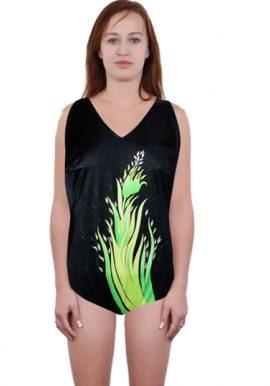 Sunflair Black Built-in Bra Plus Size 1-Piece Swimwear