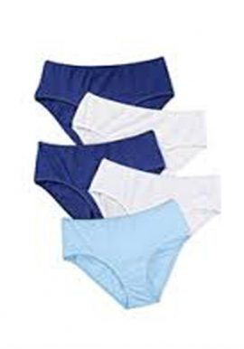 3XL,4XL,5XL Bpc Value Pack Of 5 High Waistband Panties