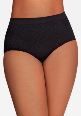 Bpc 3 Pack Cotton Soft Waistband Plus Size Panties