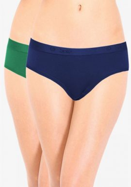 Bpc Ultimate Cotton Stretch Plus Size Panty 2-Pack