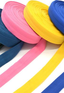 Fold Over Elastic Tape for bra panties making 16mm