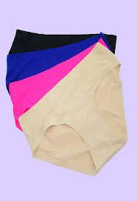 Snazzyway Comfort Microfiber Hipster Panties 4 Pack