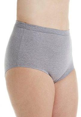 Western Beauty 4 Pack Flexible Cotton Fit Panties (3XL,4XL,5XL)