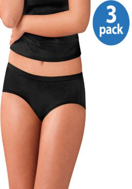 Western Beauty Comfort Covered Cotton 3-pack Panties (3XL,4XL,5XL)