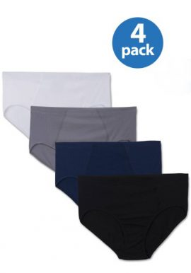 Western Beauty Low Rise Cotton 4 Pack Panties (3XL,4XL,5XL)