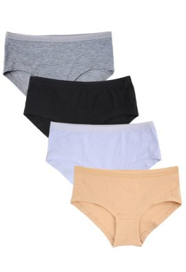 Western Beauty Stretchy Waistband 4 Pack Brief (3XL,4XL,5XL)