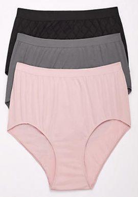Western Beauty Tagless Waist 3 Ladies Underwear (3XL,4XL,5XL)