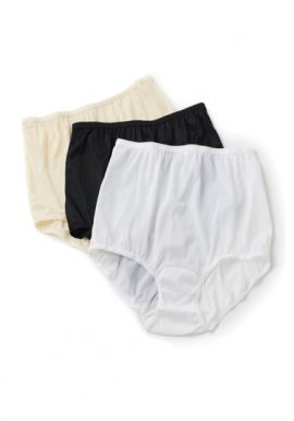 Westren Beauty Cotton Plus Size Hipster Panty 3-Pack
