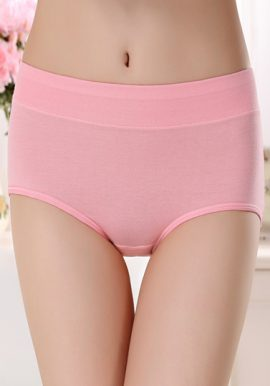 Westren Beauty Multi Colors Plus Size 6-Pack Panties