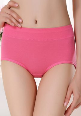 Westren Beauty Organic Cotton Plus Size 6-Pack Panties