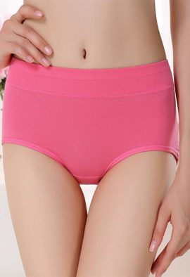 Westren Beauty Organic Cotton Plus Size 6-Pack Panties