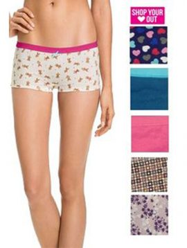 Wholesale Lot 10 Boyshorts Assorted Cotton Panties