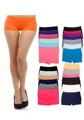 Wholesale Lot 25 Multi-Color Cotton Boyshort Panties