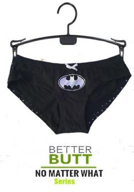 Batman Shinny Polka Dot Print Back Knickers Panty