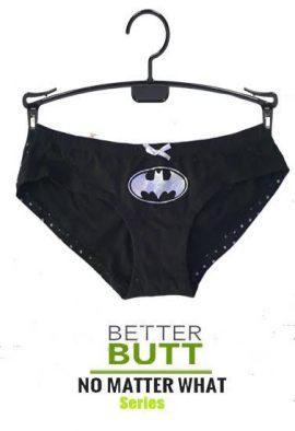 Batman Shinny Polka Dot Print Back Knickers Panty
