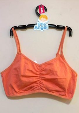 Bpc Kids Freedom Orange Adjustable Strap Sports Bra