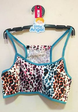 Freespirit Adorable Animal Print Sporty Crop Top