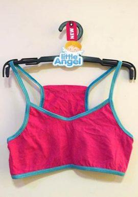 Freespirit Pink Spaghetti Strap Sport Bra