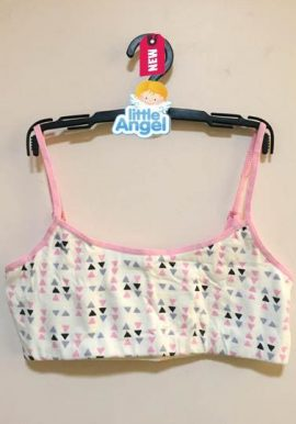 Primark Lots Of Triangle Printed Crop Top Bra