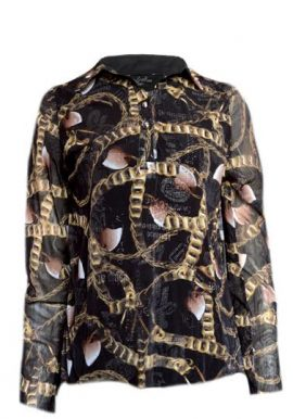 Red Fox Printed Stylish & Gorgeous Full Sleeve Tunic Top