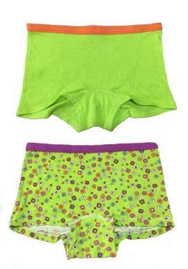 2 Fruit Of The Loom Beautiful Girls Boyshort Panties